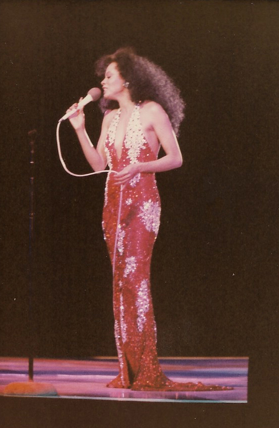 Diana Ross On Tour